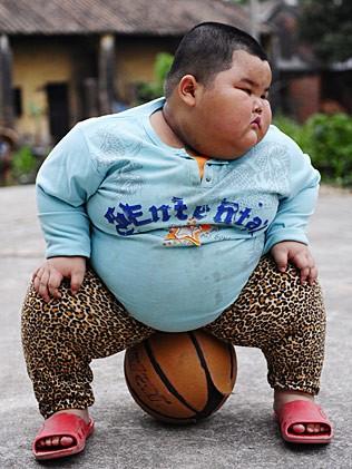Overweight Black Kids Lu Zhi-hao il b...
