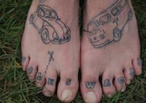 Chris Redford, fan #1 Volkswagen