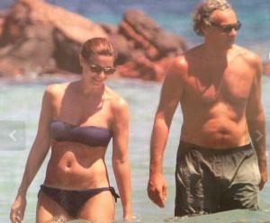 Massimo Giletti e Alessandra Moretti, innamorati... alla luce del sole