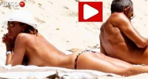 Cristina Parodi, di nuovo in topless a Formentera
